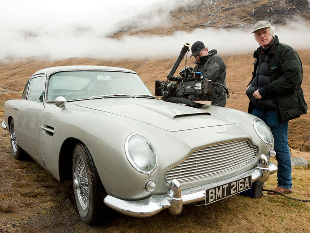 "James Bond's Aston Martin DB5 in ""Skyfall"""