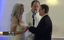 "Couple vows to say ""I do"" despite Sandy"