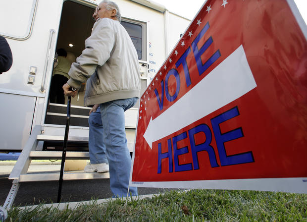 Voting in Sandy-affected communities