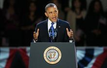 President Obama's victory speech