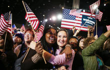 Obama thanks supporters on Twitter after re-election