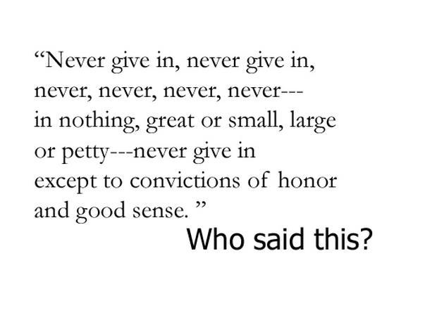 Bartlett's famous quotations
