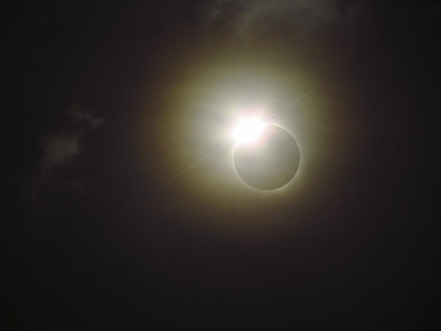 Solar eclipse in Australia
