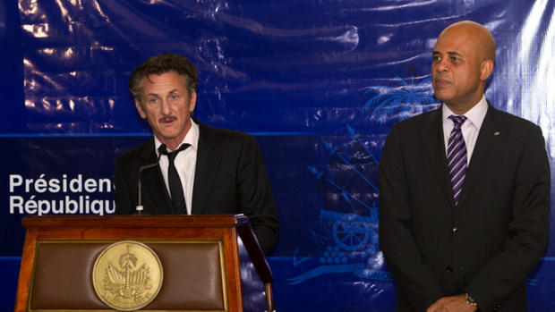 Sean Penn's home and life in Haiti