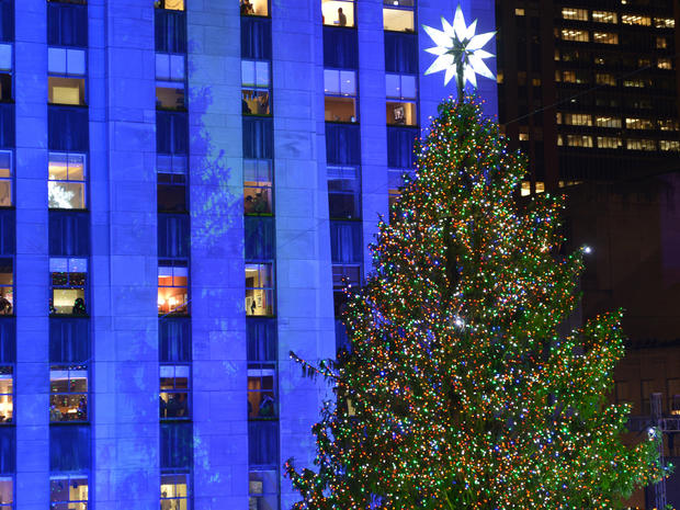 Rockefeller Center Christmas Tree 2012