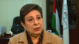 Peace negotiator Hannan Ashrawi
