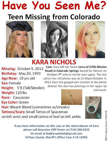 Teen model missing in Colorado