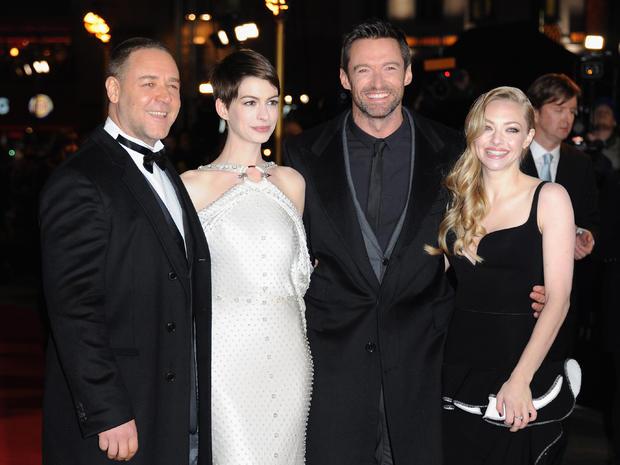 """""""Les Miserables"""" premieres in London"""
