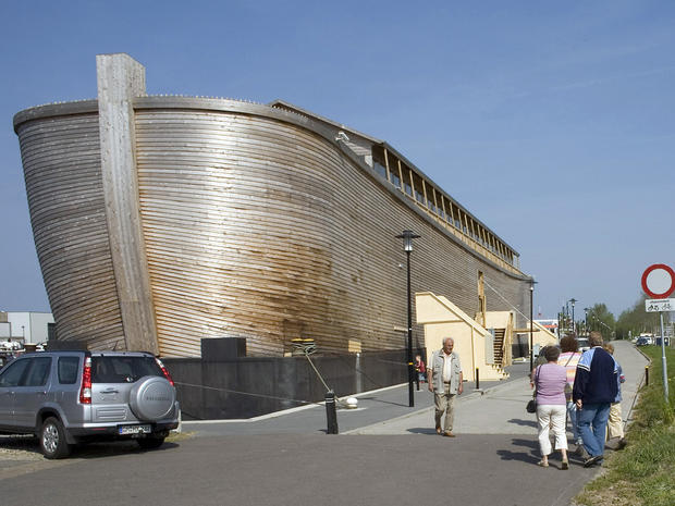 Full-size replica of Noah's Ark