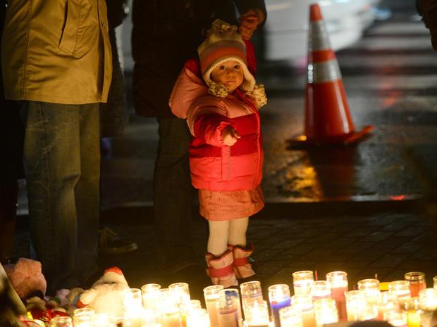 Newtown, Conn., memorial vigil
