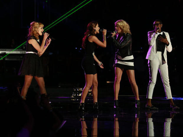 """The Voice"" season three finale"