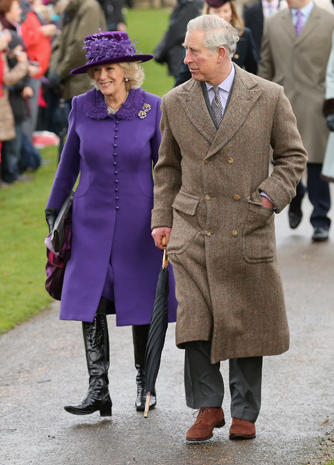 Britain's royals celebrate Christmas