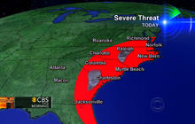 Severe weather heading to the Northeast