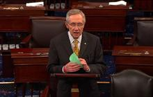 "Reid: No ""fiscal cliff"" vote tonight"