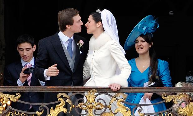 Royal wedding for Austrian Archduke