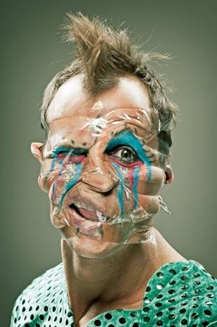 """Tape face"" portraits go viral"