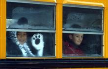 Newtown students return to class