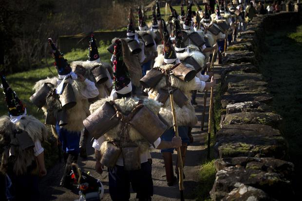 Masquerade festival in Spain