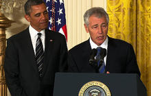 "Chuck Hagel: ""I will always do my best"""
