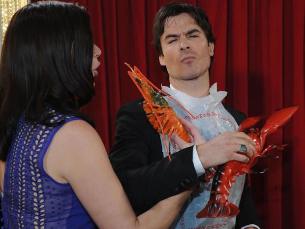 People's Choice Awards 2013 backstage