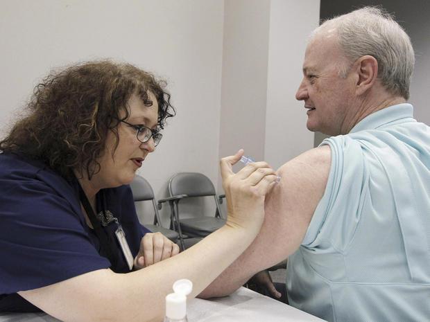 Widespread flu found in 48 states