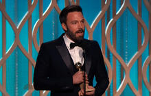 "Ben Affleck wins ""Best Director"" at 2013 Golden Globes"
