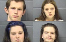 Four charged in grisly Ill. murders