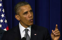"""""""We don't benefit from ignorance"""" on gun violence, Obama says"""