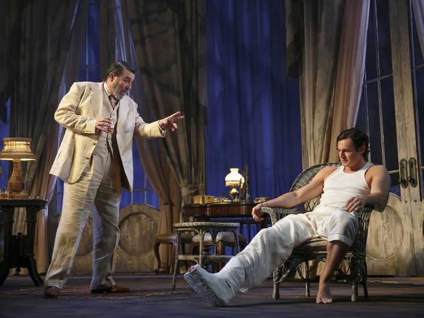 """Cat on a Hot Tin Roof"" opens on Broadway"