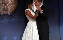 Mystery over First Lady's inaugural gown