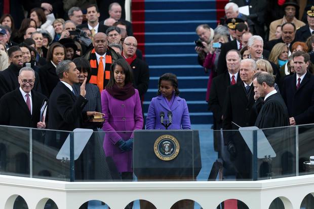 Presidential inauguration 2013