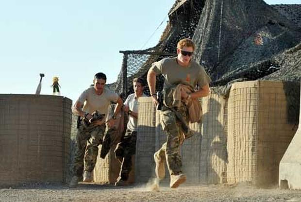 Prince Harry on second Afghanistan tour
