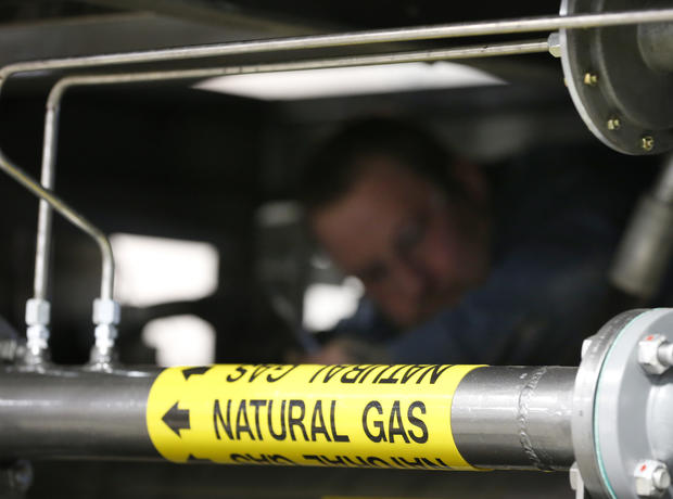 Fracking for natural gas