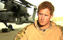 Prince Harry's life in Afghanistan
