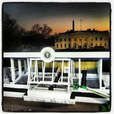 Instagram pics from Inauguration 2013