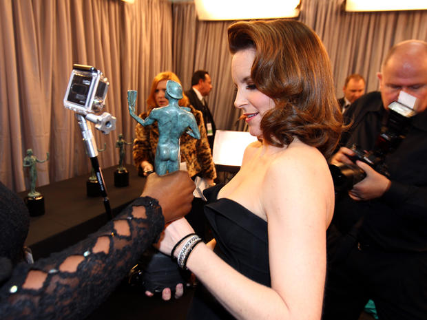 SAG Awards 2013: Backstage and press room