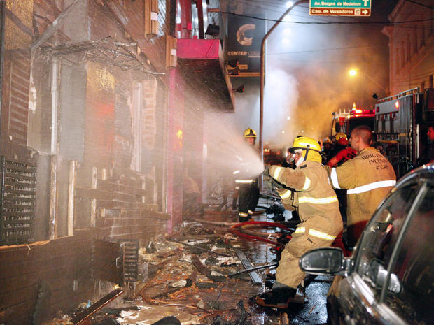 More than 200 die in Brazil nightclub fire