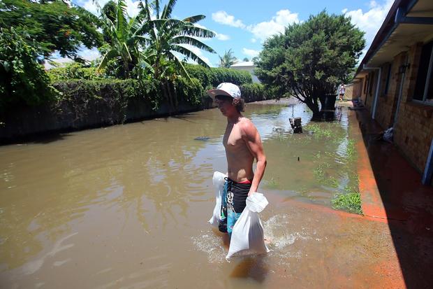 Severe flooding hits Australia
