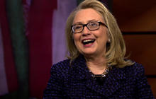 "Hillary Clinton ""not thinking about"" 2016 yet"