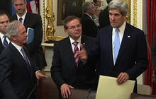 """Kerry on his way to becoming Secretary of State: """"What a privilege"""""""