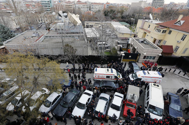 Suicide bomber hits U.S. Embassy in Turkey