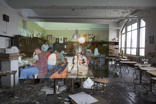 Detroit series reveals past life of city's ruins