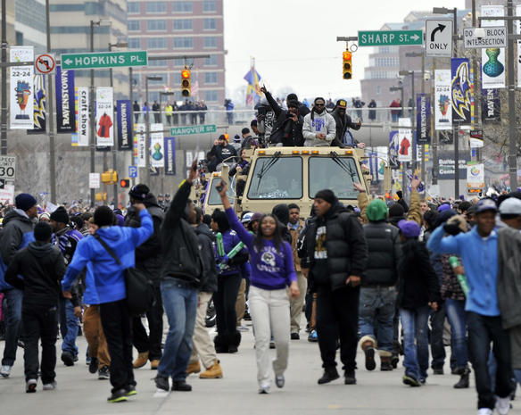 Baltimore Ravens Super Bowl parade
