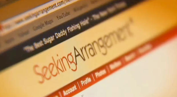 SeekingArrangement.com的屏幕截图