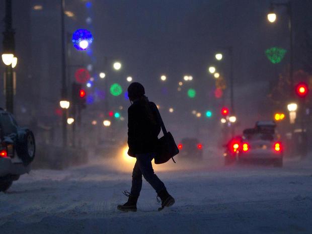 Powerful blizzard descends on Northeast