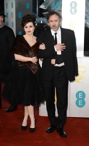 BAFTA 2013 red carpet