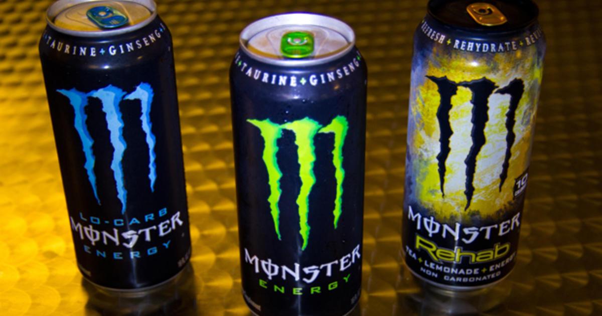 Rare Monster Energy Drinks