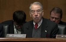 Grassley, Lew discuss Citigroup stint, Cayman investments