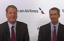 CEOs talk new American Airlines, US Airways deal