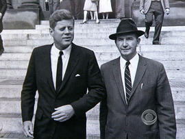 No one was closer to President John F. Kennedy than his longtime aide, Dave Powers.